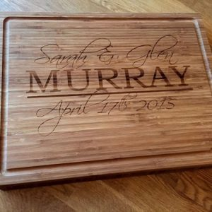 Engraved Wooden Products