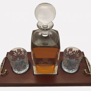 2 Glass Decanter Crystal 1