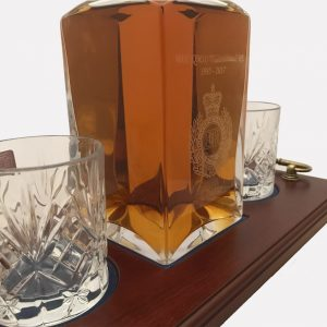 2 Glass Decanter Crystal 2