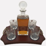 4 Glass Decanter Crystal 1