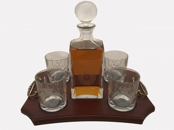 4 Glass Decanter Crystal 7
