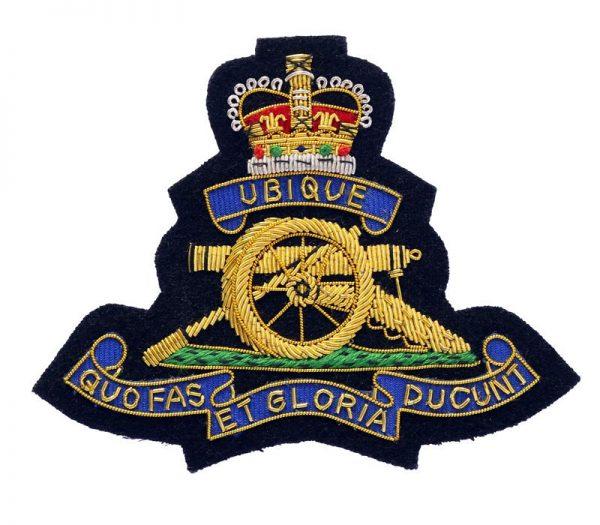 RA Blazer Badge