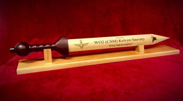 Engraved Rudis Sword Para