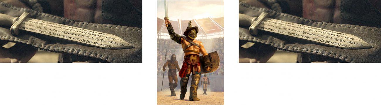 Rudis and Gladiator