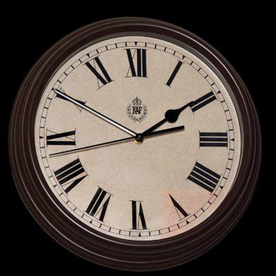 RAF-Wall_Clock-12H-B